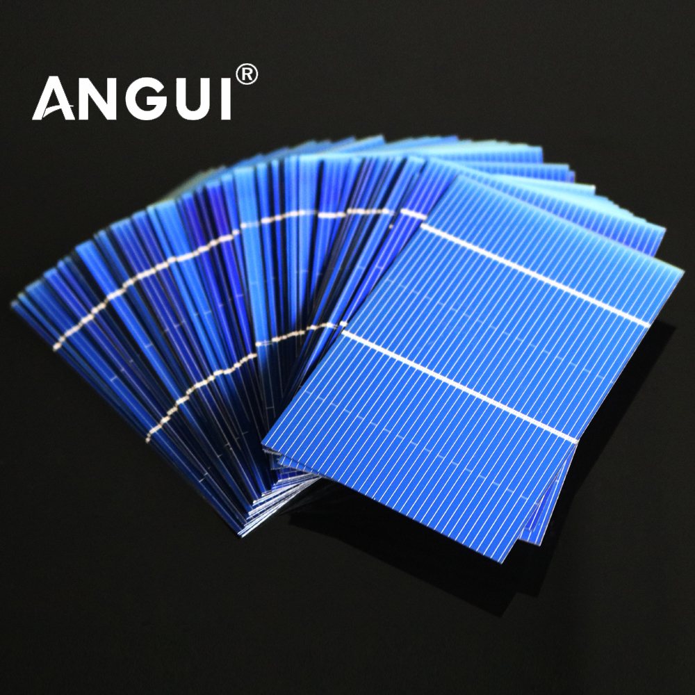 Панель солнечных батарей 50 шт./партия 125 156, поликристаллический кремний