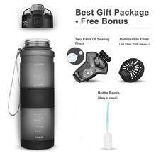 ZORRI spor su şişeleri BPA içermeyen Tritan şişesi spor anti-fall sızdırmaz 500ml/1000ml CE/ab Drinkware shaker YOGA içme şişesi