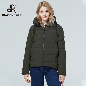 Diaosnowly 2020 new winter jacket short coat woman winter fashion jacket and parka for women warm short outwear coat hooded winter clothing women 2020 2020 parka winter women jacket fur collar hooded winter warm thick short parka winter coat outwear jacket