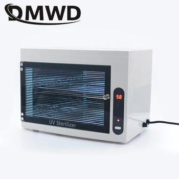 DMWD UV Sterilizer Disinfection Box Mini Ozone Disinfecting Cabinet Dental Ultraviolet Lamp Sterilization Nail Cleaner 110V 220V dmwd bake shoe dryer sterilizer uv shoes drying heater warmer ultraviolet flexible boot odor deodorant dehumidify device drier