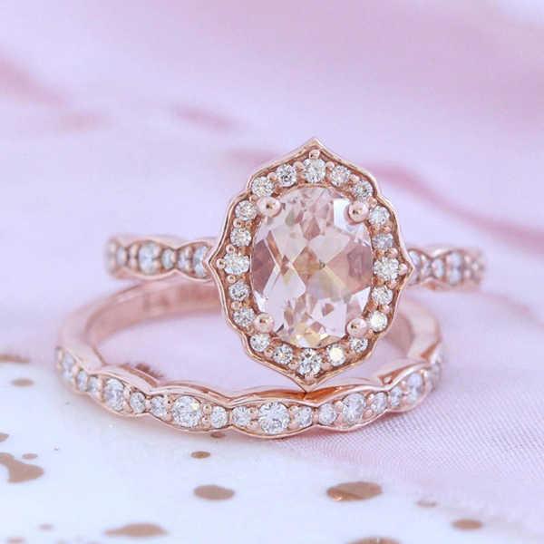 עלה זהב טבעת 925 תכשיטי כסף סטרלינג מיקרו-משובץ יהלומי להתאמה אישית תכשיטי אישיות מצב רוח קלאסי