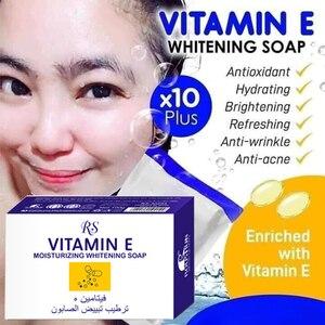 100% Концентрированное Отбеливающее мыло с витамином Е, черное осветляющее мыло с витамином Е 10 плюс осветляющее мыло для отбеливания кожи