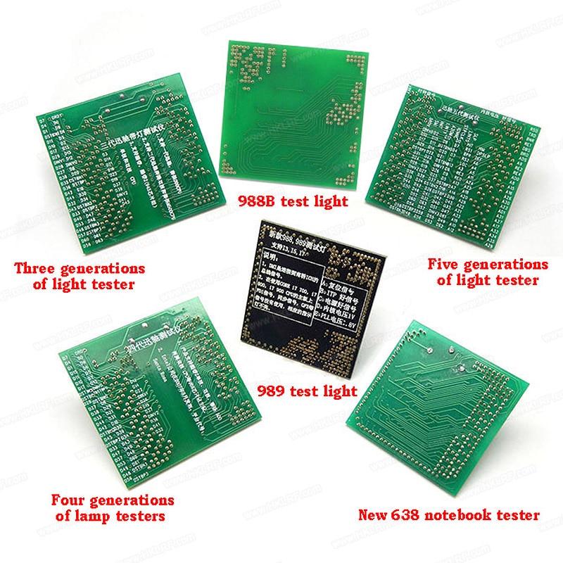 FULL SET OF CPU SOCKET TESTER FOR LAPTOP