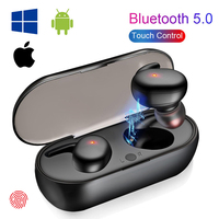 Auriculares inalámbricos Y30 TWS, con cancelación de ruido, HiFi, 3D, estéreo, para música, para Android IOS