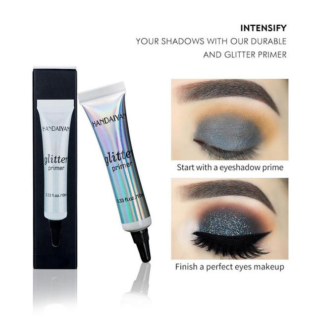 Glitter Primer Sequined Primer Eye Makeup Cream Waterproof Sequin Eyeshadow Glue Korean Makeup 5