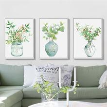 Абстрактная ваза украшение для дома свежий постер винтажное