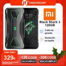 Black Shark-teléfono inteligente 3 5G, versión Global, Snapdragon 865, 8GB, 128GB, ocho núcleos, cámara Triple de 64MP, 30W, 4720mAh