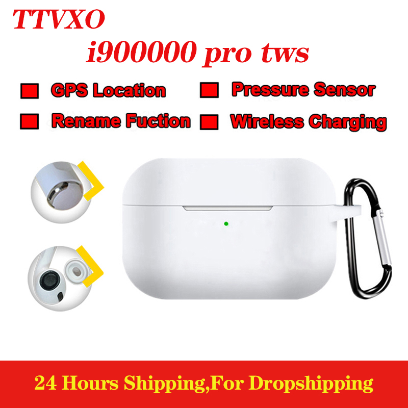 TTVXO i900000 pro TWS Super copy 1:1 In ear Bluetooth Earphone Stereo Wireless Earbuds <font><b>gps</b></font> rename Stereo Headset PK <font><b>i200000</b></font> TWS image