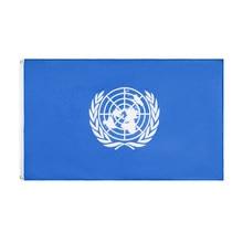 Bandeiras das nações unidas de 90x150cm para a decoração