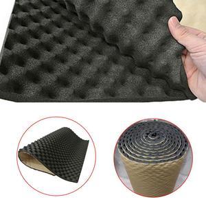 100*50cm 50*50cm Car Sound Deadener Mat Sound Deadening Noise Insulation Acoustic Dampening Foam Subwoofer Mat tool Wholesale