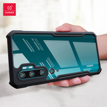 Xundd Antiurto Per Il Caso di Xiaomi Mi Nota 10 Pro Caso Xundd Paraurti Airbag di Protezione Della Copertura Trasparente Per Mi Nota 10 caso di Lite