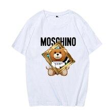 2021 Summer Cotton 7 Colors Women Top Kawaii Printed Casual Comfortable Clothing Harajuku Short-Sleeve T-Shirt