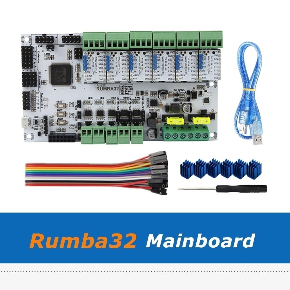 placa de impressora 3d 32bit rumba32 rumba 32 placa mae 6 pces modulo driver v1 1