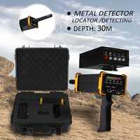 30 m 깊이 지상 금속 탐지기 기계 방수 포장 상자 골드 다이아몬드 실버 금속 탐지기 장비
