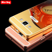 For Huawei Honor 5C Case 7 Lite Luxury Mirror Aluminum Metal Bumper Cover 5A Fundas 5X