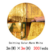 300leds warm white