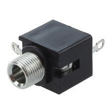 10 шт. панель PCB Женский 3,5 мм разъем для наушников аудио разъемы