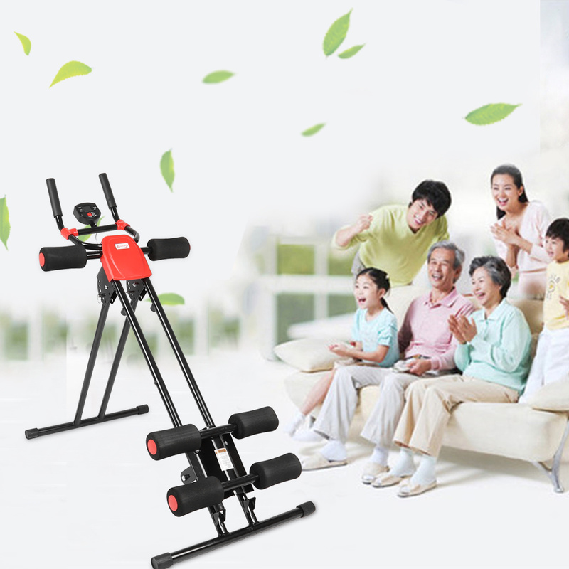 AB Glider Trainer Rail Cruncher Abdominal device lose weight machine Roller Smart Machine Gym Home ABS fitness equipment New HWC image