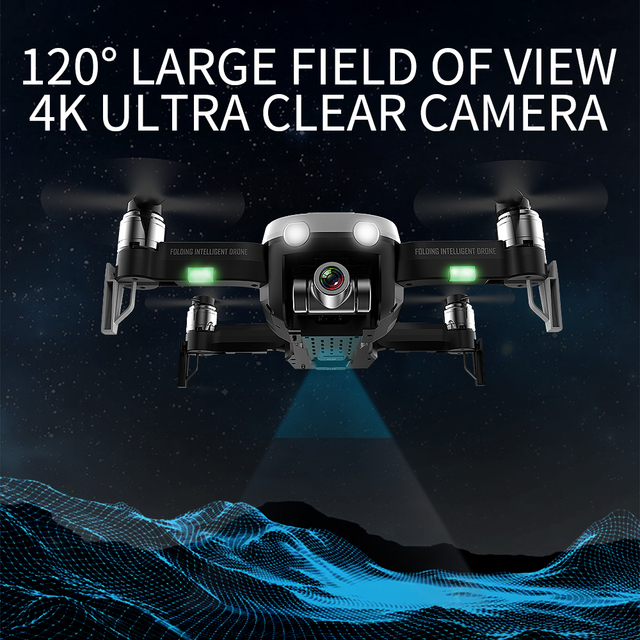 LAUMOX F8 GPS Drone with 2K 1080PCamera Two-Axis Anti-Shake Self-Stabilizing Gimbal WiFi FPV  Brushless Quadrocopter VS Zen K1