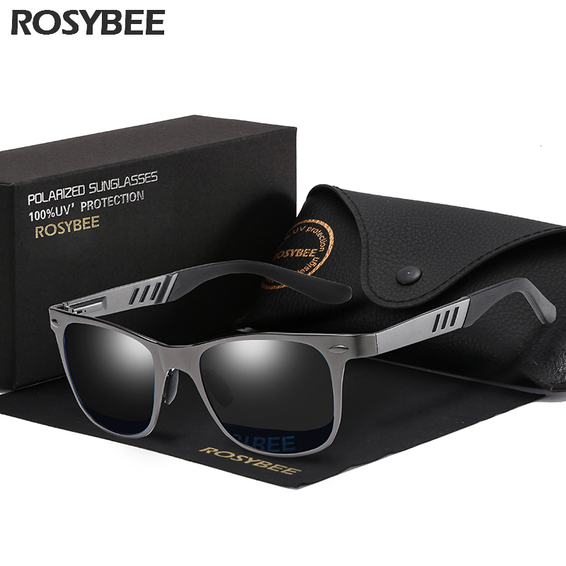 2019 NEW Polarized Aluminum magnesium Sunglasses Men New Fashion Eyes Protect Sun Glasses Unisex driving goggles oculos gafas