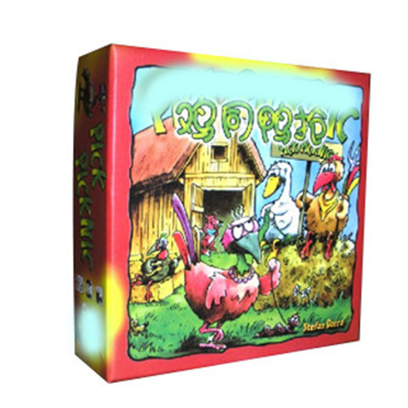 Pick Hick Hack Board Games For 2-6 Peoples Puzzle Game Children Toy With English Instructions