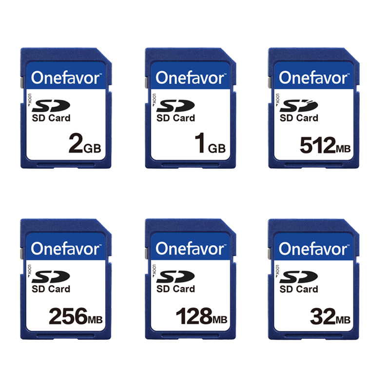 Promotion!!5pcs/lot 2GB 1GB 512MB 256MB 128MB 32MB SD Card Memory Card Secure Digital Flash Memory Card With Card Case