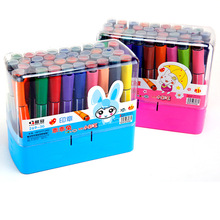 Pens Drawing Fine-Liner Brush-Pen Stationery Painting Art-Marker School-Supplies Dual-Tip