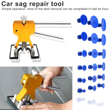 Car Dent Lifter Puller Paintless Dent Repair Tools Set PDR Dent Lifter Hail Repair Dent Removal PDR Tools Hand Tool Sets цена 2017