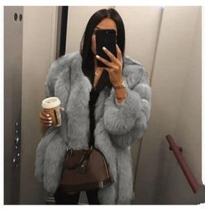 Image 1 - 2019 חדש חורף נשים ורוד מעיל בתוספת גודל 5xl אופנה מקרית Loose מוצק מלא שרוול סלעית קטיפה מעיל נשים גדול להאריך ימים יותר Parka