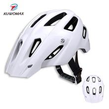 KUWOMAX MTB cycling helmet Bicycle Helmets Men Women Bike Helmet Back Mountain Road Bike Integrally Molded Cycling Helmets.