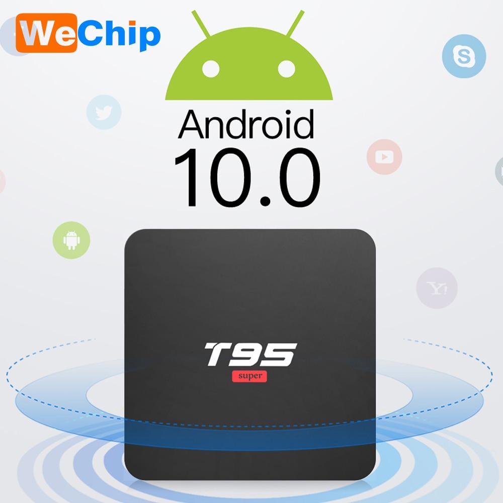 Android 10 Smart TV Box T95 Super Smart Android TV Box Allwinner H3 GPU G31 2GB 16GB  WiFi Wireless 4K Youtueb HD Media Player