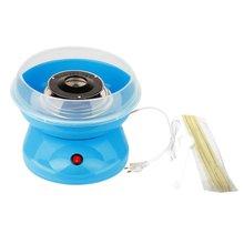 цена на Mini Electric Cotton Candy Maker Marshmallow DIY Machine Portable Household Cotton Sugar Making Device Children Snack Maker