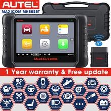 2021 Autel MaxiCOM MK808BT OBD2 Bluetooth skaner diagnostyczny MK808 MK808TS