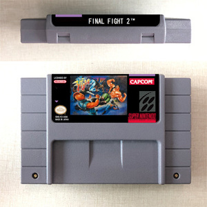 Image 2 - Final Fight or Final Fight 2 or Final Fight 3 or Final Fight GUY  Action Game Card US Version English Language