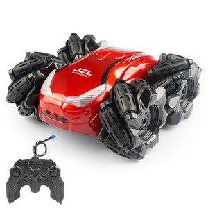 Image 2 - Mini coche eléctrico RC Control remoto juguete Radio Control Drift Car juguetes para niños regalos niños vehículo juguete 1:24 2555