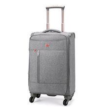 Ultra-light Pull-rod Box Oxford Cloth Large Capacity Suitcase Cloth Soft Box Travel 28 Suitcases