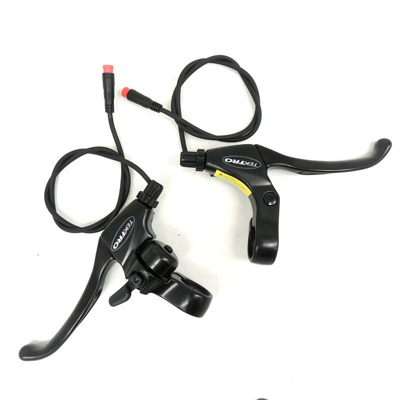 Bike 1 Set Brake Levers Bicycle Scooter Brake Lever With Cables Electric