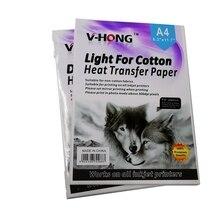 """A4 размер струйный принтер футболка Темный хлопок текстиль передача сублимационная бумага для переноса """"V-HONG"""""""