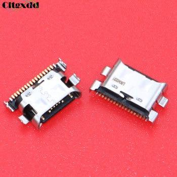 Cltgxdd 100 шт потребительских упаковок для микро штепсельное гнездо USB зарядки Порты и разъёмы Разъем для Samsung Galaxy A70 A60 A50 A40 A30 A20 A405 A305 A505 A705