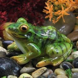 1PC Simulated Frog Frog Mini Resin Crafts Garden Miniatures DIY Micro Landscape Decoration Terrarium Succulents Decoration 2020