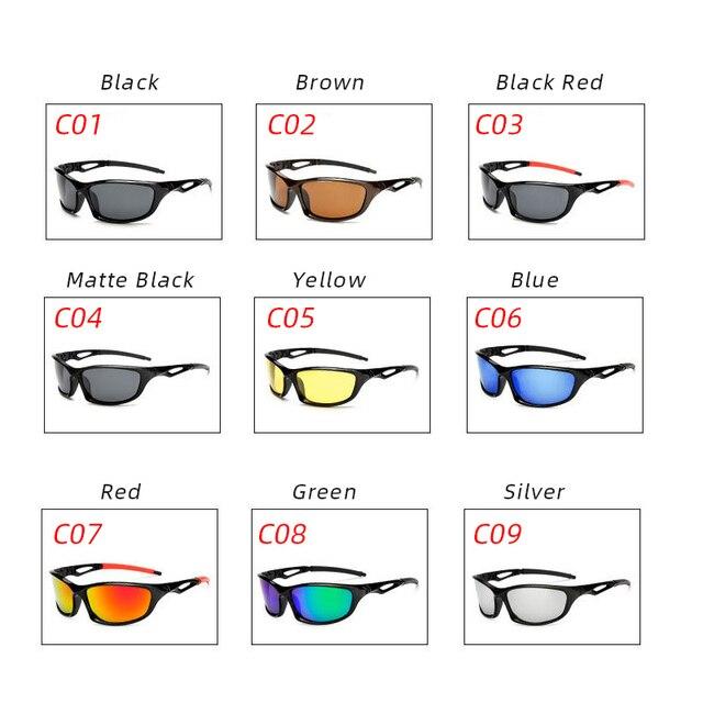 Reedocks novo polarizado óculos de sol de pesca das mulheres dos homens acampamento caminhadas condução bicicleta esporte ciclismo 2