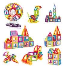 1pcs Mini Magnetic Blocks Triangle Square Bricks Magnetic Designer Construction Toys For Children Gifts