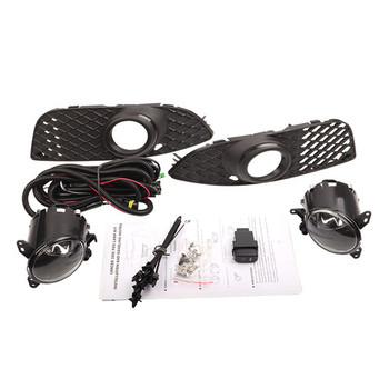 H11 55W Bumper Grille Fog Lamp with Switch Assembly /1 Set Fit for Mitsubishi Lancer 2008