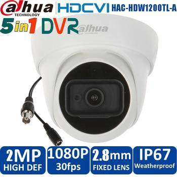 Original dahua  DAHUA HDCVI 2mp IR 30m 1080P HAC-HDW1200TL-A Built in mic waterproof Eyeball Camera