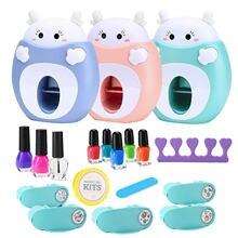 17 шт высококачественный детский набор для дизайна ногтей Милая