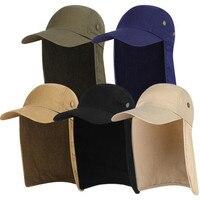 Outdoor Unisex Wandern Caps Quick Dry Sonnenblende Kappe Hut Sonnenschutz Mit Ohr Hals Klappe Abdeckung Für Wandern Reiten kappen