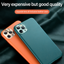 Luxury Metal Lens Hard PC Matte Phone Case For iPho