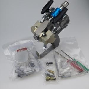 Image 5 - P2 gun, A5 spray gun ABRA500 with 00 Mix Chamber for low flow output spray polyurethane foam applications