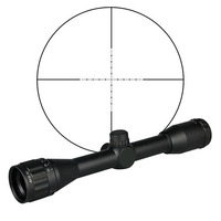 PPT air gun Rifle Scope Tactical Airsoft Leapers 4X32 Mini Size Range Estimating Mil Dot For Gun Accessories in Rifle OS1 0311