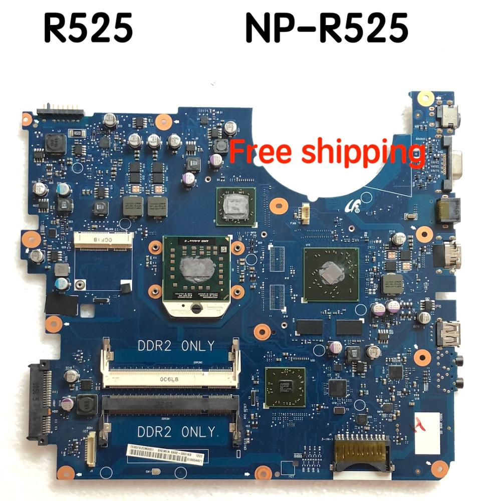For Samsung NP-R525 R525 NP-R523 R523 Laptop Motherboard BA92-06013A BA92-06014Amotherboard100%tested Fully Work